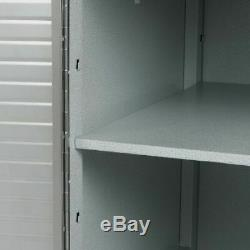 UltraHD 4 Drawer Rolling Cabinet Steel Locking Storage by Seville Classics, Gray