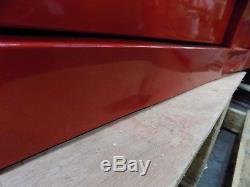 WorkSmart 12 Drawer Steel Roller Cabinet Red Ball Bearing slides WS-MH-TSTOR-017