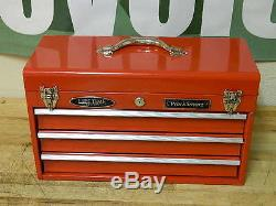 WorkSmart Top Chest Tool Box 3-Drawer with Ball Bearing Slide WS-MH-TSTOR-001