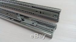 (pack Of 10 Pairs) Soft-close Ball Bearing Drawer Slides For Cabinets